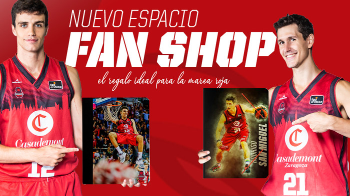 Basket Zaragoza lanza su nueva Fan Shop