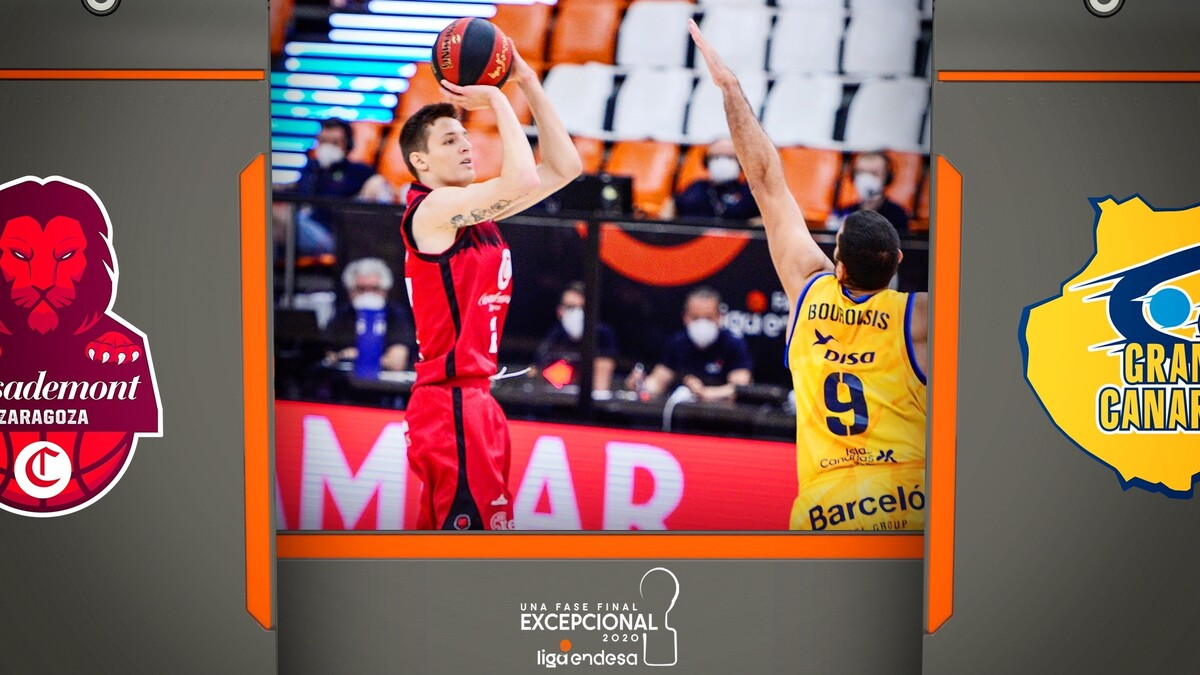 Resumen Casademont Z. 85 - Herbalife GC 76 (Fase Final J4)