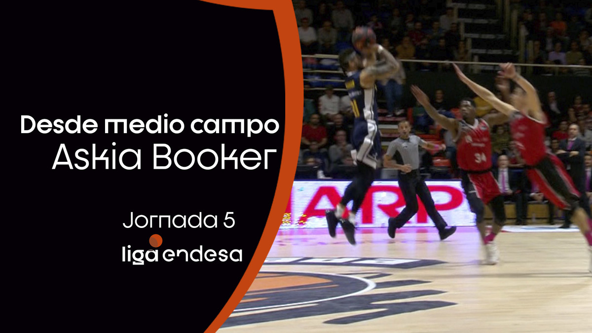 Askia Booker... ¡desde California!