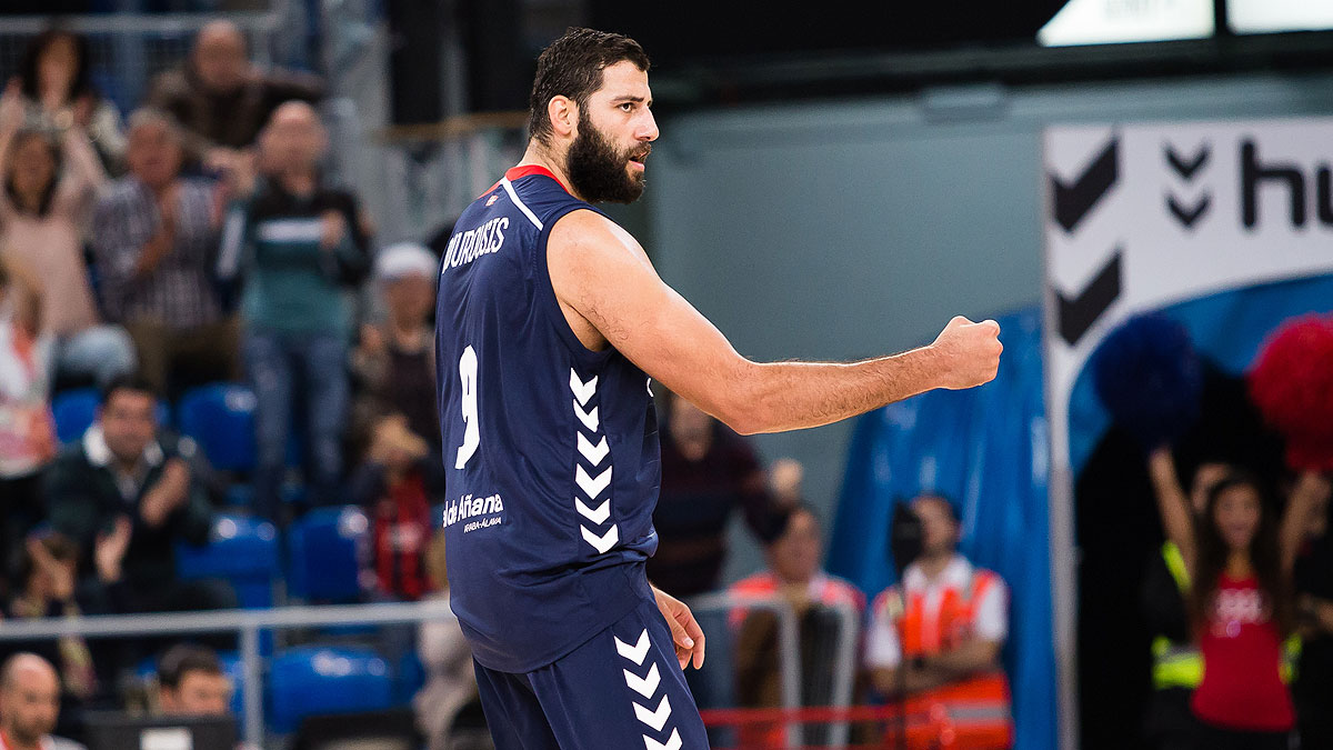 Ioannis Bourousis, referente baskonista (ACB Photo / I. Martín)