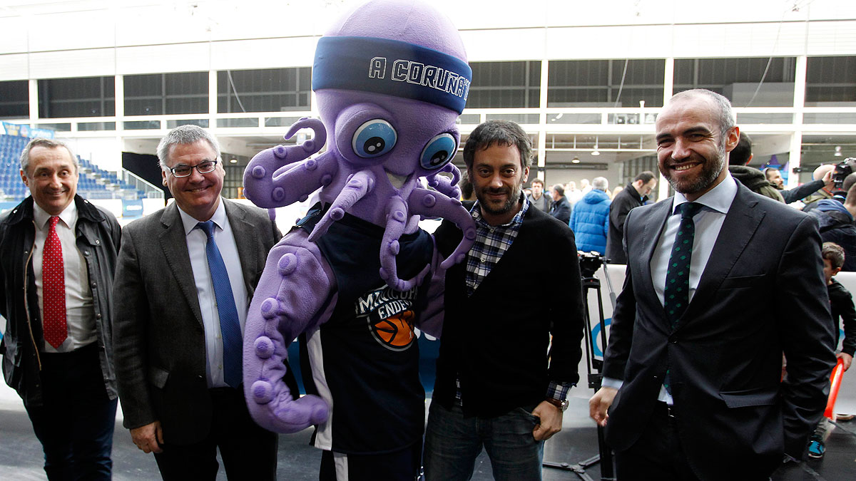 Pulpiño, presente en la Copa Fan Zone Movistar  (ACB Photo)