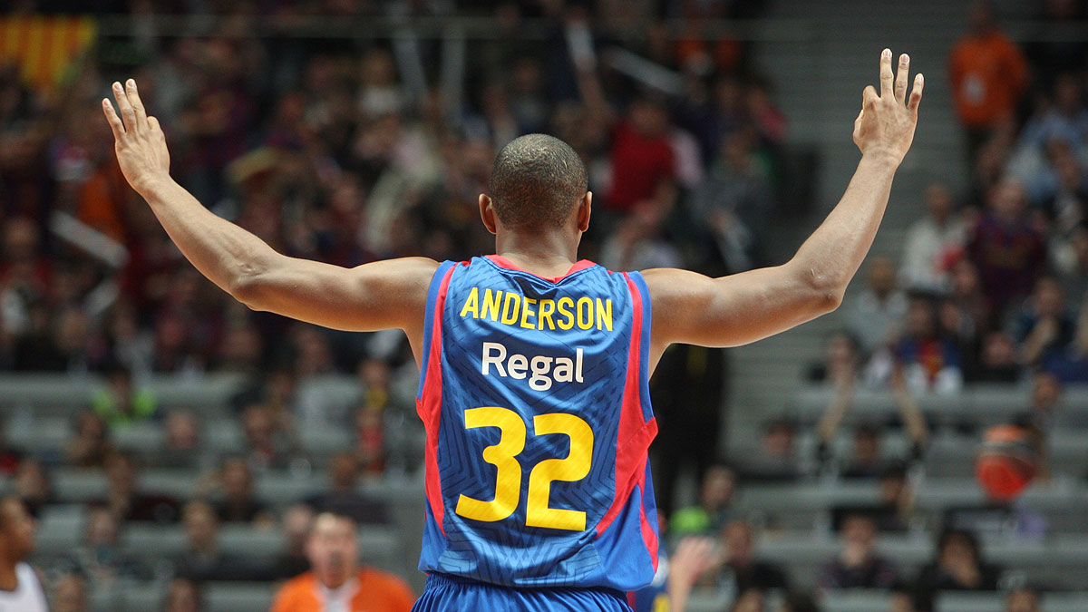 Alan Anderson, letal en la final (ACB Photo)
