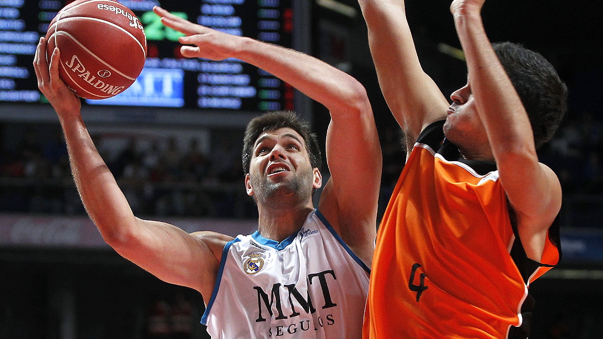 Felipe Reyes, un histórico del Real Madrid (ACB Photo / V. Carretero)