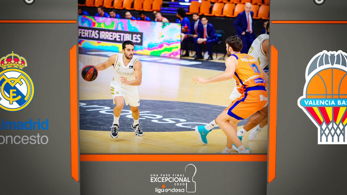 Resumen Real Madrid 95 - Valencia BC 90 (Fase Final J3)
