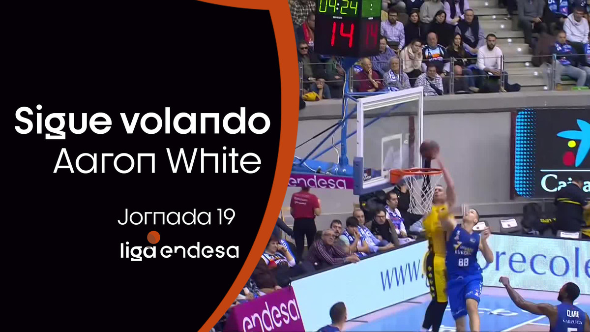 Aaron White sigue volando