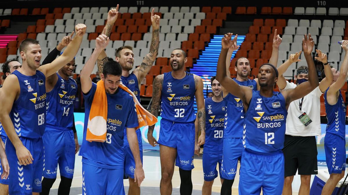 El San Pablo Burgos gana dos veces
