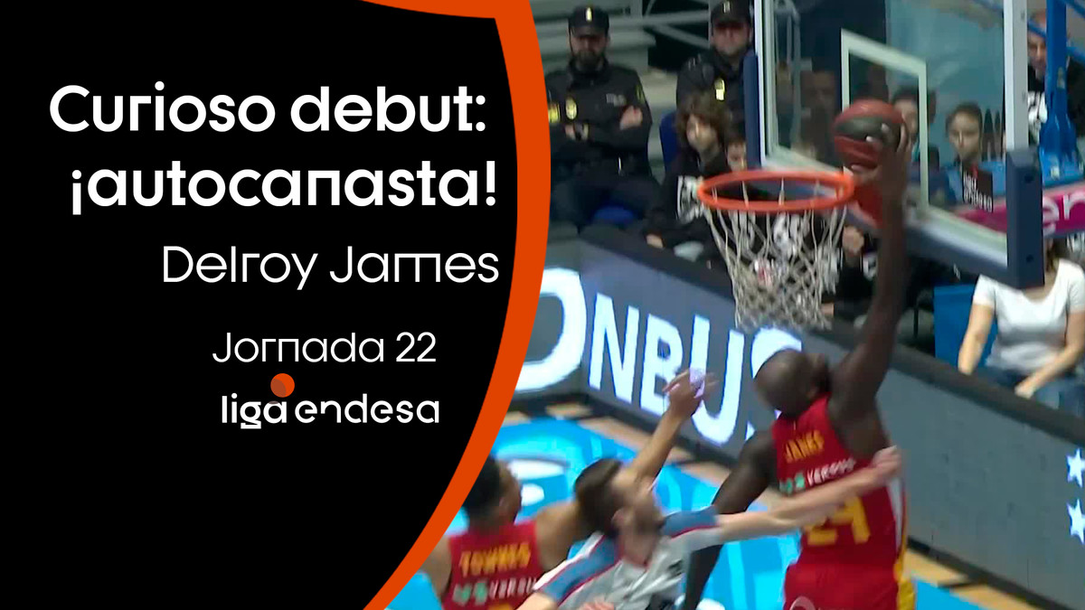 Delroy James y un curioso debut: ¡Autocanasta!